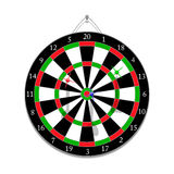 Darts game with javelins. Hanging on a nail Stock Photography