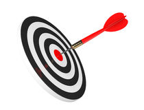 Darts Hitting The Target Royalty Free Stock Images