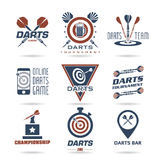 Darts icon set - 2 Royalty Free Stock Photography