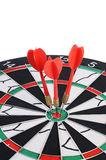 Darts isolated on white background Stock Photos
