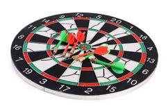 Darts isolated on white background Royalty Free Stock Photo