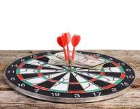 Darts isolated on white background Stock Photo
