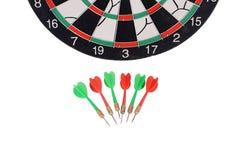 Darts isolated on white background Stock Photography