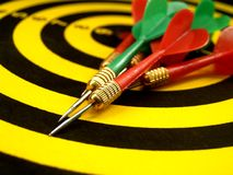 Darts photo Royalty Free Stock Photo