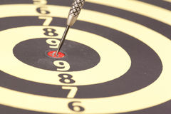 Darts score board Royalty Free Stock Photography
