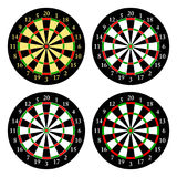 Darts. Set of targets for playing darts. Vector. Illustration Stock Images