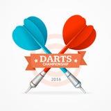 Darts Sign. Vector Stock Photography