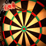 Darts 180 Succes Royalty Free Stock Image