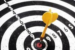 Darts success Royalty Free Stock Image