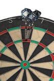 Darts, successful hit Stock Image