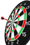 Darts on target Royalty Free Stock Photography