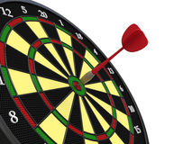 Darts on target Royalty Free Stock Image