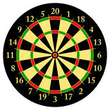 Darts. Target for darts. Isolated object. White background.Vector Stock Photo