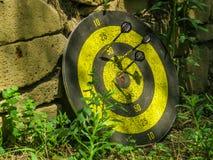 Darts target Stock Image