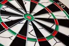 Darts target. Photo of darts board target Royalty Free Stock Image