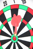 Darts on Target. Royalty Free Stock Photo