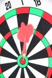 Darts on Target. Royalty Free Stock Photo