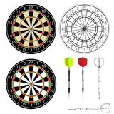 Darts vector Stock Photos