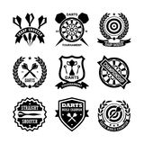 Darts Vector Icons 11 Stock Photography