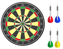 Darts vector illustration Stock Image