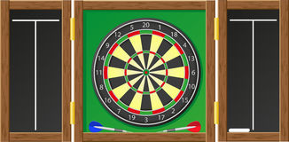 Darts vector illustration Stock Images