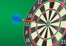 Darts. Vector illustration. Darts advertising, design template for your projects. stock illustration