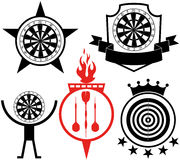 Darts. Vector illustration (EPS 10 Stock Images