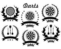 Darts. Vector illustration (EPS 10 Stock Image