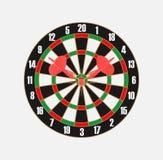 Darts. Vector.Target and darts game Royalty Free Stock Image