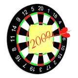 Darts on a white background. Isolated 3D image Stock Image