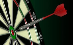 Dartsboard Royalty Free Stock Images