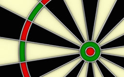 Dartsboard Royalty Free Stock Image