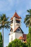 Daru es Salaam Luterański kościół Zdjęcia Stock