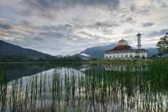 Darul-Quranmoschee in Selangor Stockfotografie