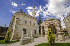 Darulhadis moské Edirne Royaltyfri Foto