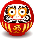 Daruma doll cartoon Stock Images