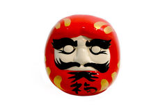 The Daruma doll isolated Royalty Free Stock Photos