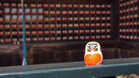 Daruma Doll of Katsuoji temple in Japan Stock Image