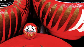 Daruma Doll of Katsuoji temple in Japan Stock Photo