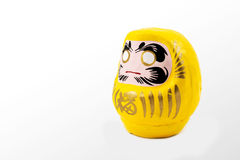 Daruma doll  on white background Royalty Free Stock Images