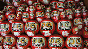 Daruma Dolls of Katsuoji temple in Japan Stock Photo