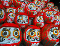 Daruma dolls Stock Photography
