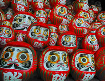 Daruma dolls Royalty Free Stock Image
