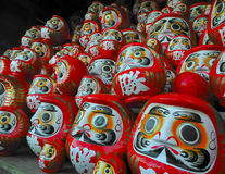 Daruma dolls Stock Photos