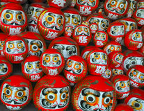 Daruma dolls Stock Photo