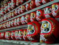 Daruma dolls Royalty Free Stock Photos