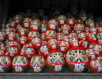 Daruma dolls Stock Image