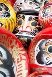 Daruma Dolls at Shorinzan Darumaji Temple, Japan stock photo