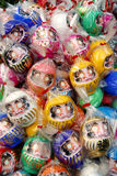Daruma dolls. Royalty Free Stock Photo