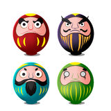 Daruma Japan Culture Isolate Object Vector. Daruma Japan Culture Isolate Object Royalty Free Stock Image